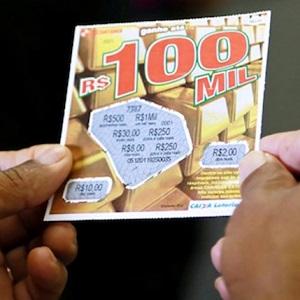 Empresa brasileira de loteria causa o caos